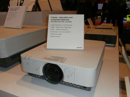 Projektor Sony serii F