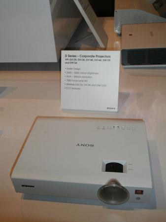 Projektor Sony serii D